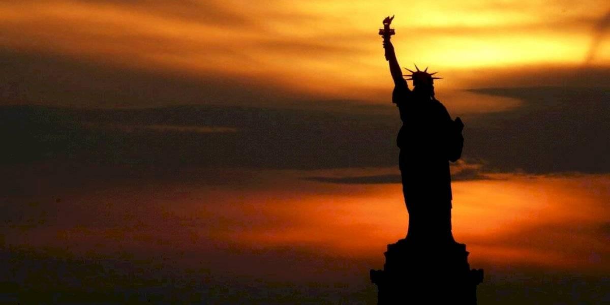La Dama Libertad como símbolo de inmigración