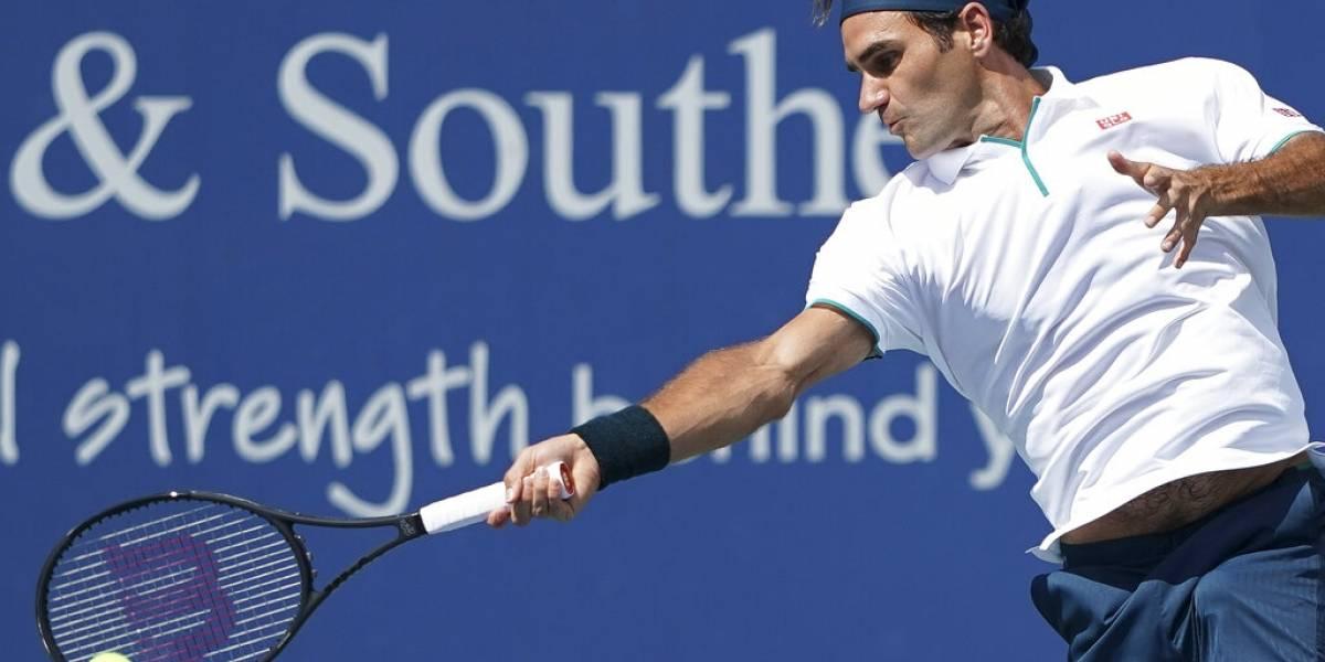 Federer queda fuera del Masters de Cincinnati
