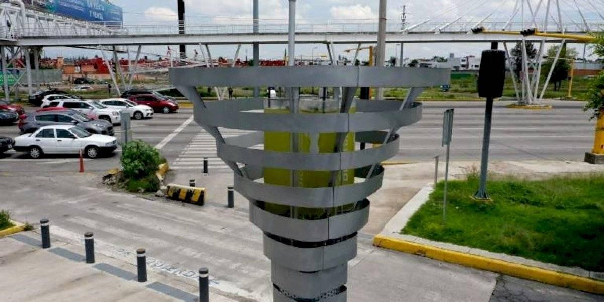 México creará árboles artificiales para luchar contra la contaminación