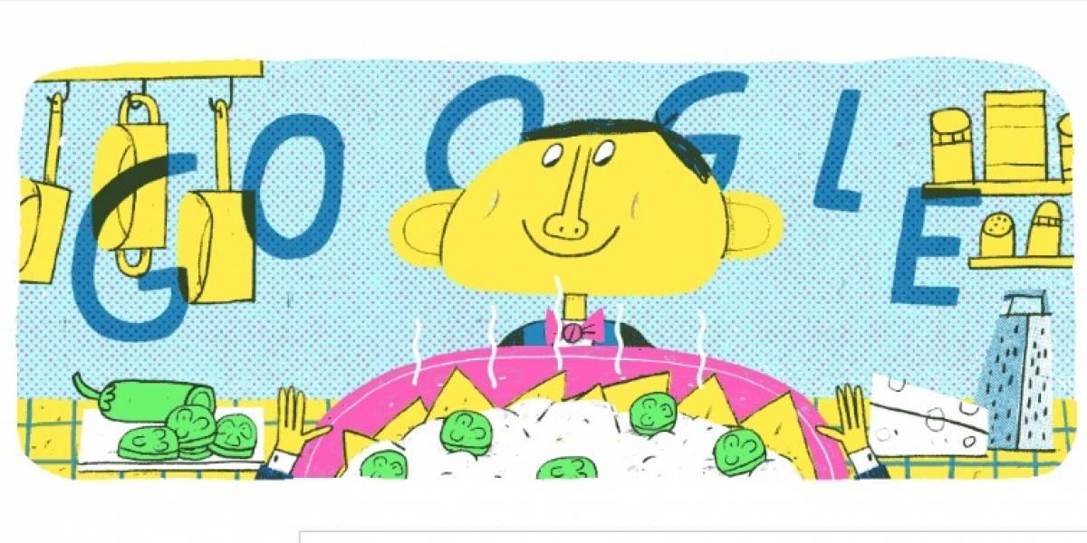 ¿Por qué aparece Ignacio Anaya García en el Doodle de Google?