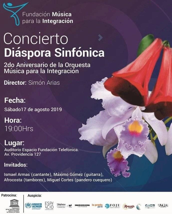 Concierto Diáspora Filarmónica