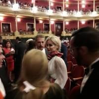 Invitados en el Teatro Degollado.