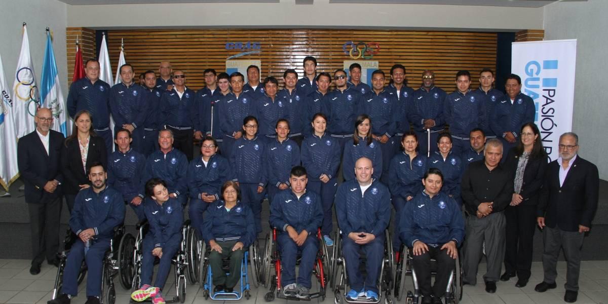 VIDEO. Paraatletas guatemaltecos se llenan de ilusión para subir al podio