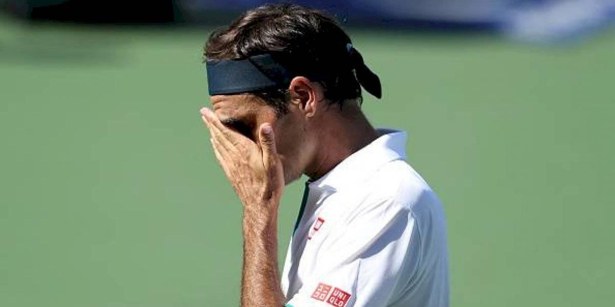 ¡Sorpresa! Roger Federer cae en octavos de final del Masters 1000 de Cincinnati