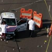 Escenas de la balacera cercana al metro Villa de Aragón