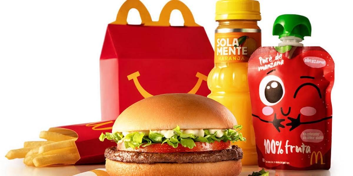 McDonald's: El menú de la Cajita Feliz es más nutritivo