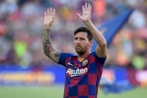 Messi no fue convocado para el debut del Barcelona en la Liga