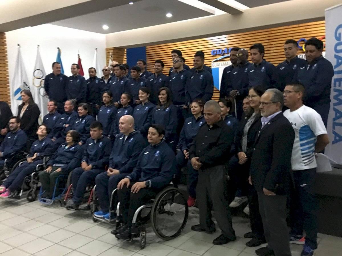 Los paraatletas guatemaltecos