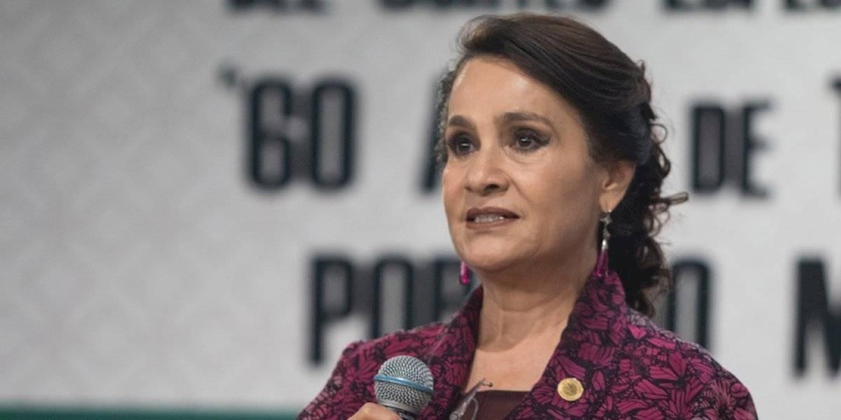 Dolores Padierna reconoce que juez en el caso de Rosario Robles es su sobrino