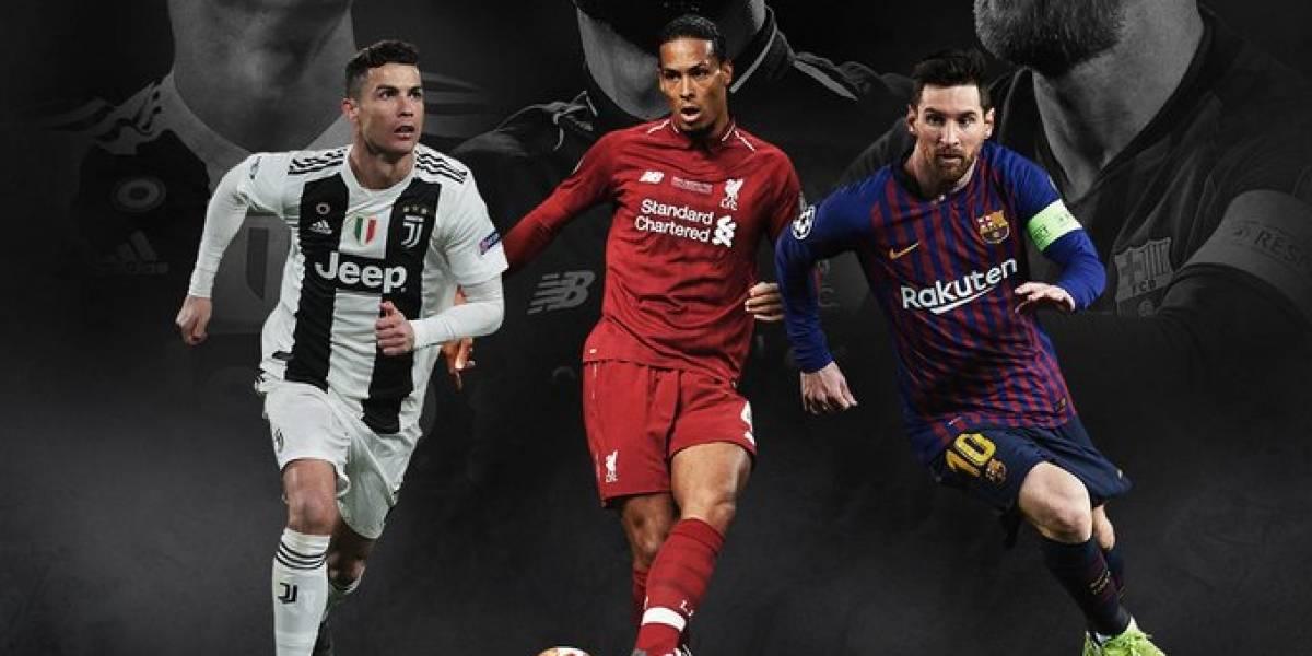 Listos los nominados al mejor jugador del año de la UEFA