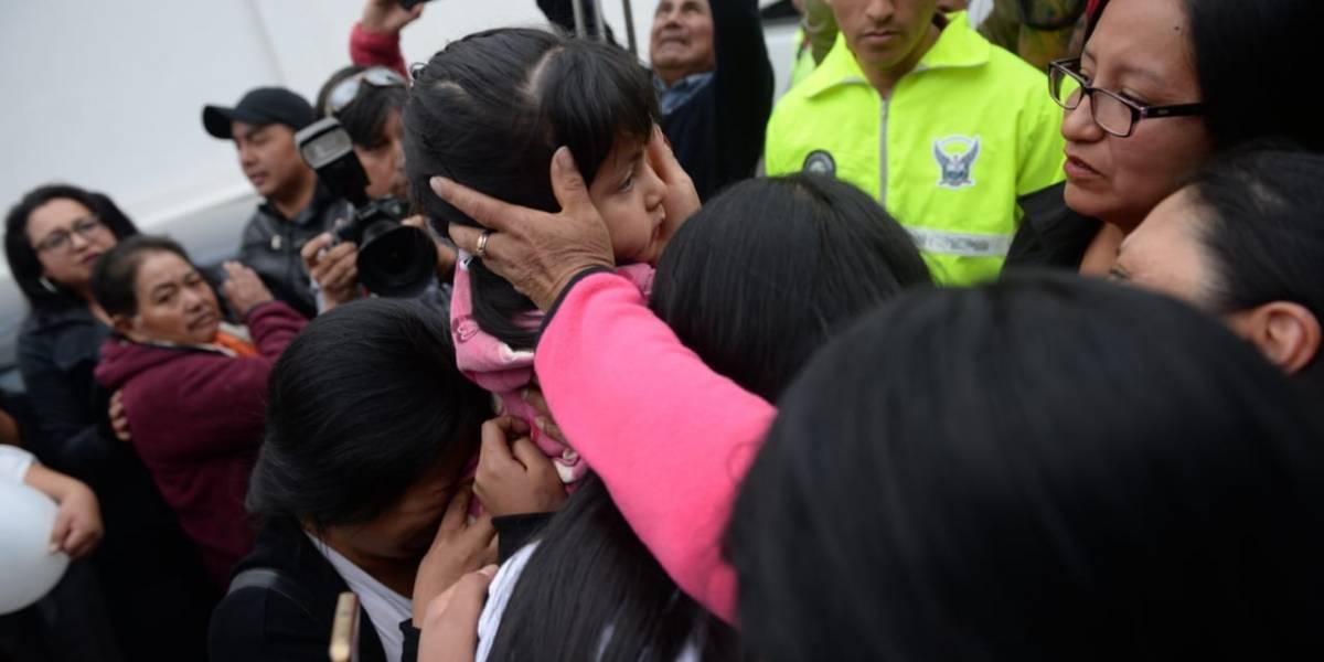 Las secuestradoras de Anahí son dos jóvenes de 19 y 16 años