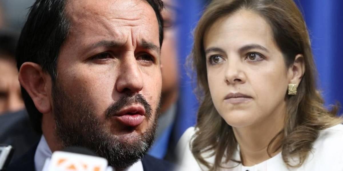 Fiscalía abrió una investigación previa contra María Paula Romo e Iván Granda