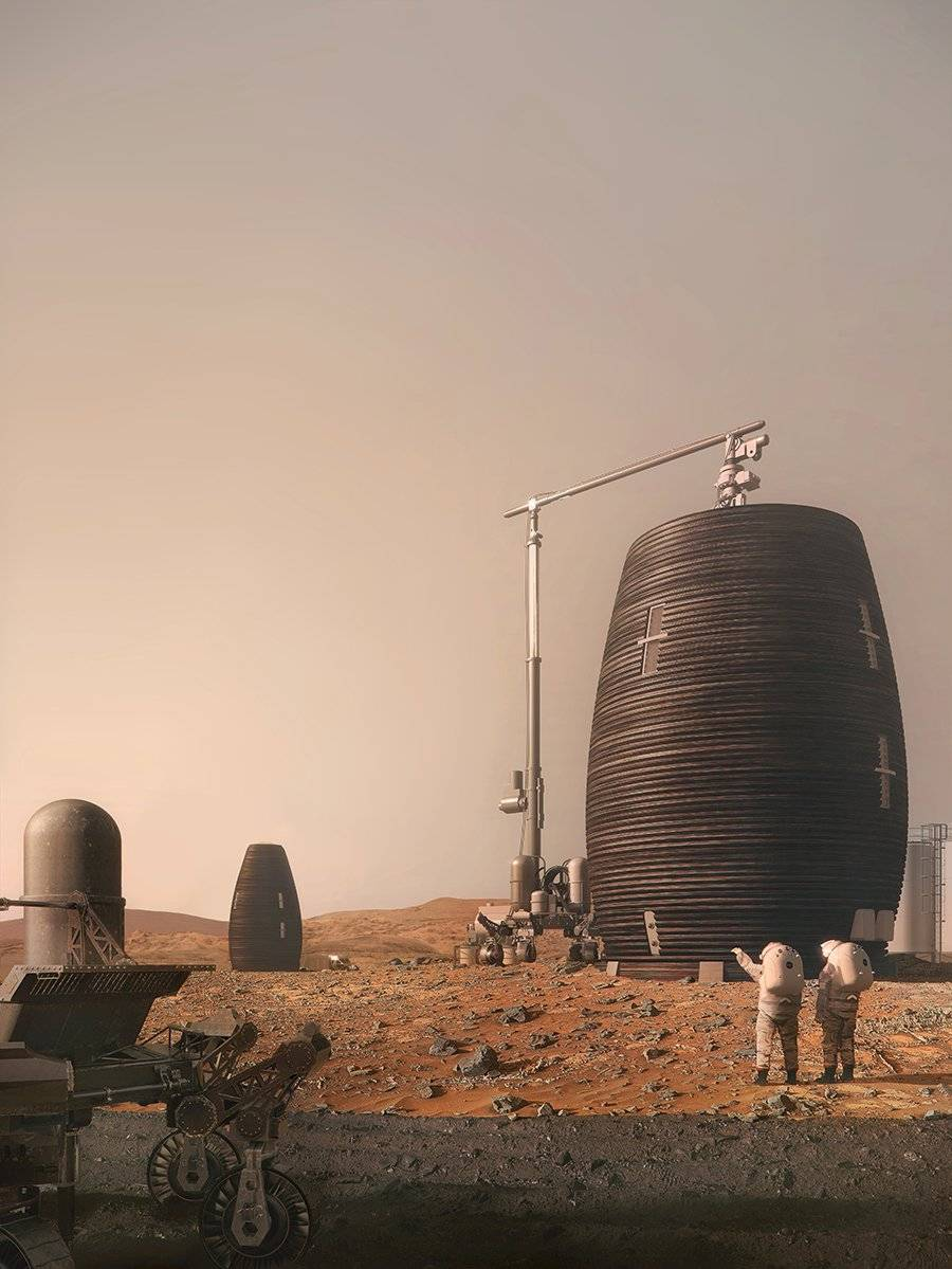 ¿Las primeras casas de Marte? Esta compañía ya tiene el diseño para habitar el planeta rojo