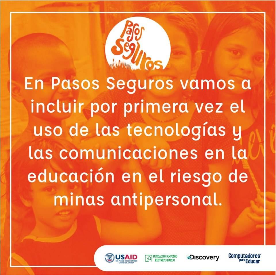 Lanzan en Colombia una alianza para educar sobre las minas antipersona con ayuda de la tecnología