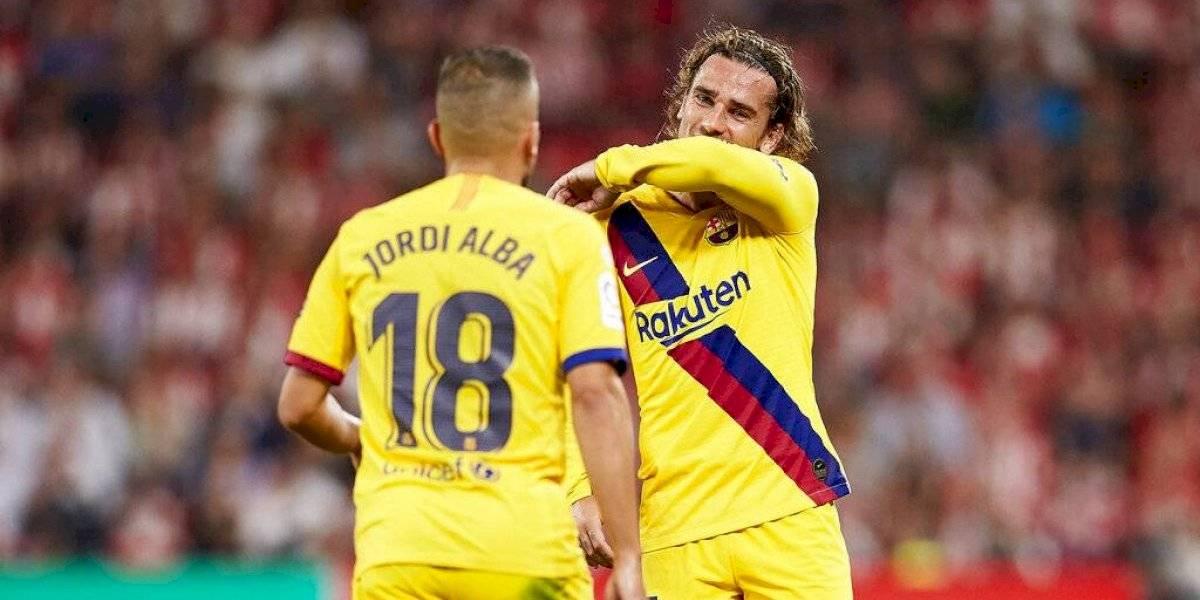 Barcelona sufrió una agónica derrota sin Vidal ni Messi en su estreno en la Liga española