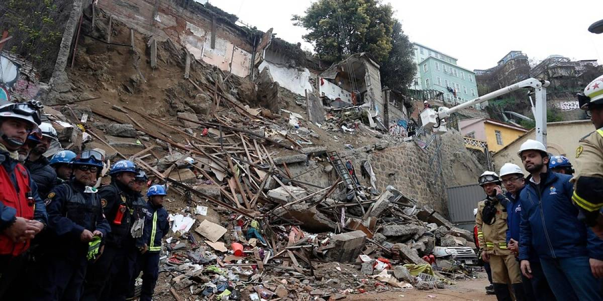 Valparaíso vive en peligro: hay entre 1.500 y 2.000 casas que podrían sufrir un derrumbe
