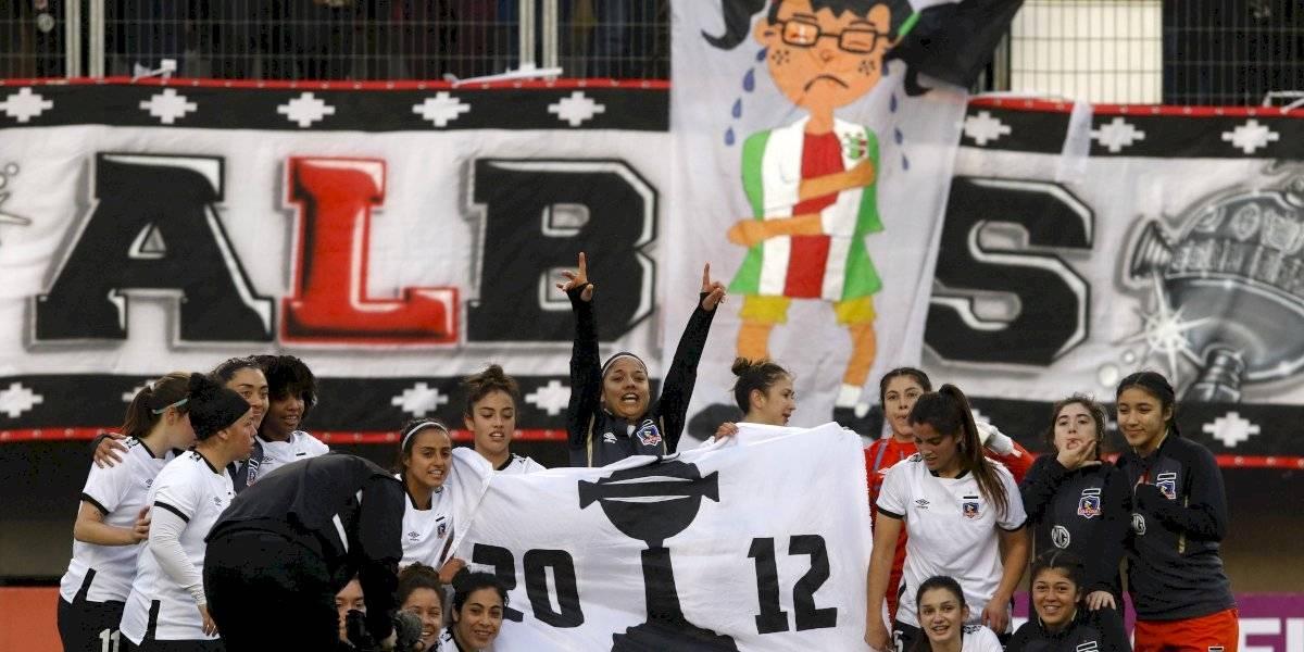 La primera gran final del fútbol femenino se vivió con ambiente de clásico entre Colo Colo y Palestino
