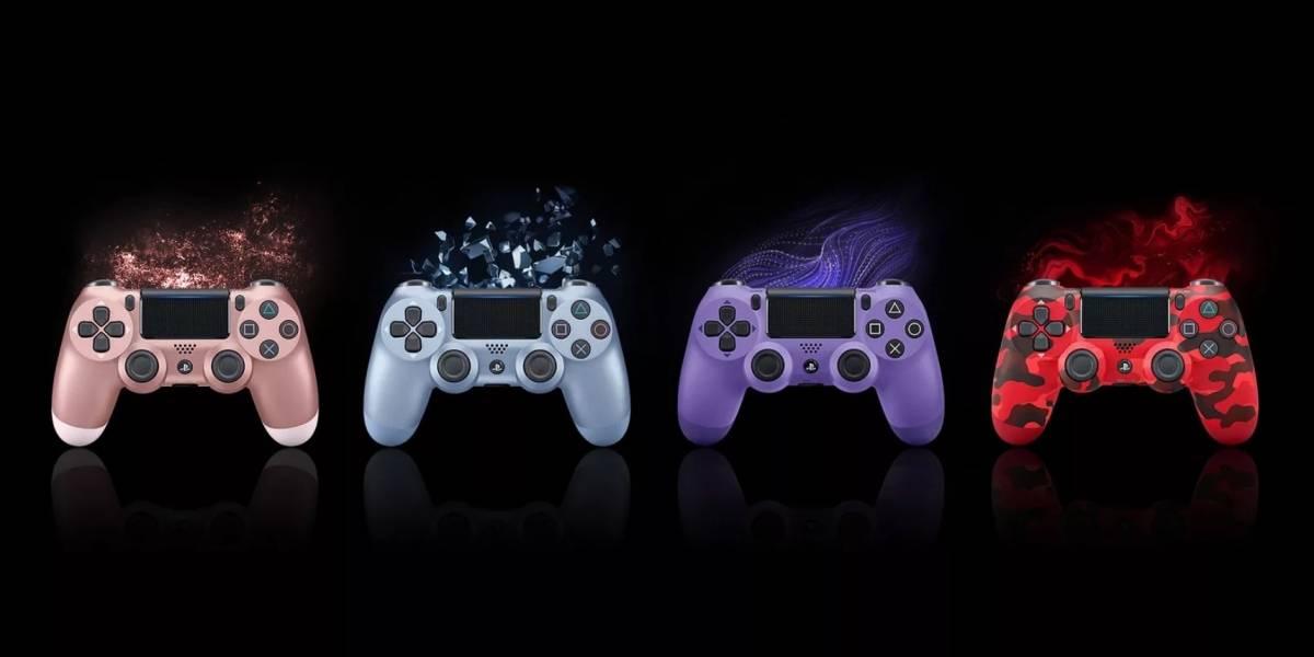 Quatro novos controles DualShock 4 Sem Fio chegam ainda este ano