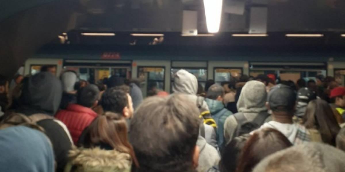 Menos mal fue el interferiado: falla técnica provoca caos en la Línea 1 del Metro