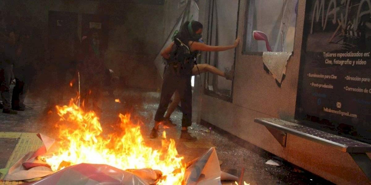 Metro y Metrobús restablecen servicio tras manifestación