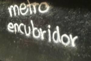 Destrozos en el Metro y Metrobús por manifestantes