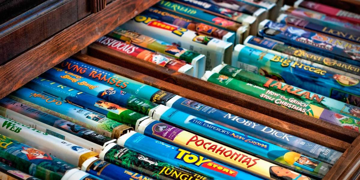 Están vendiendo las cintas VHS de Disney por una fortuna en eBay