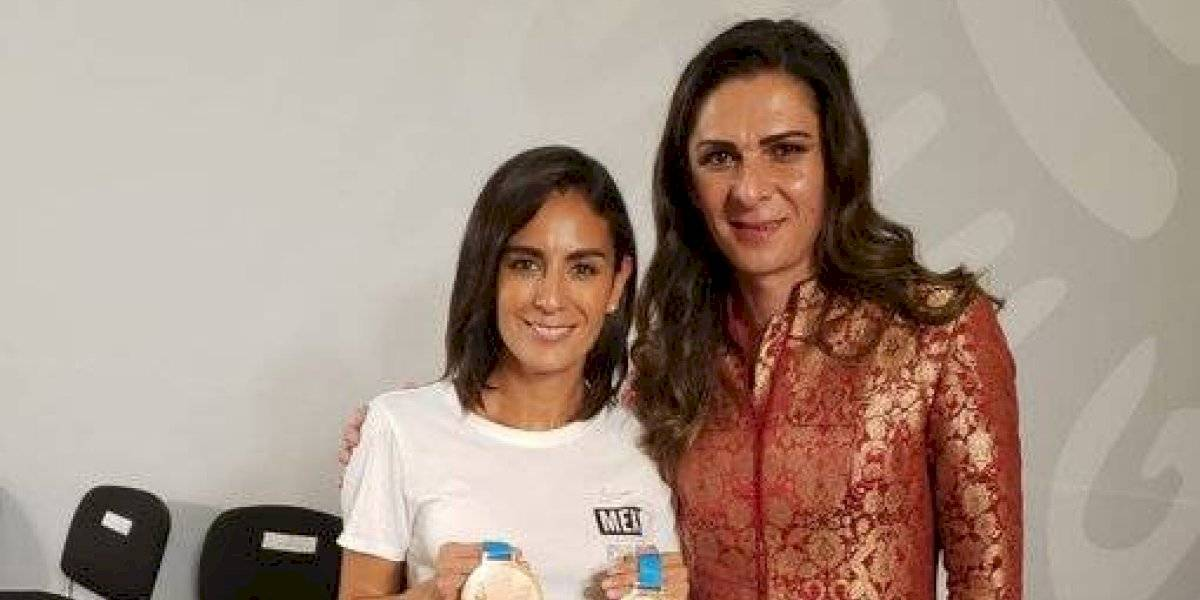 """Paola Espinosa agradece a AMLO y Ana Gabriela Guevara: """"Cumplimos y nos cumplieron"""""""