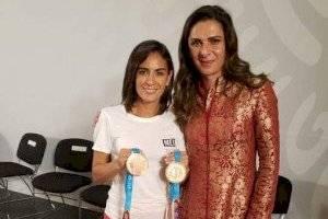 Paola Espinosa agradece a AMLO y Ana Gabriela Guevara: