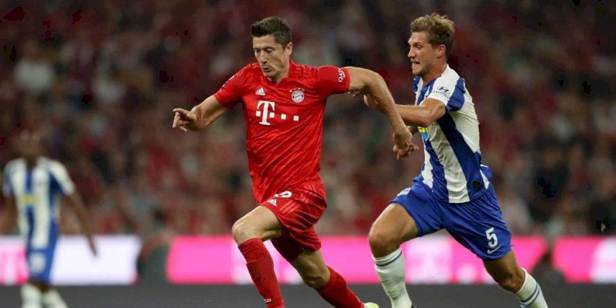 Bayern Munich tuvo un amargo debut en la Bundesliga ante Hertha Berlin