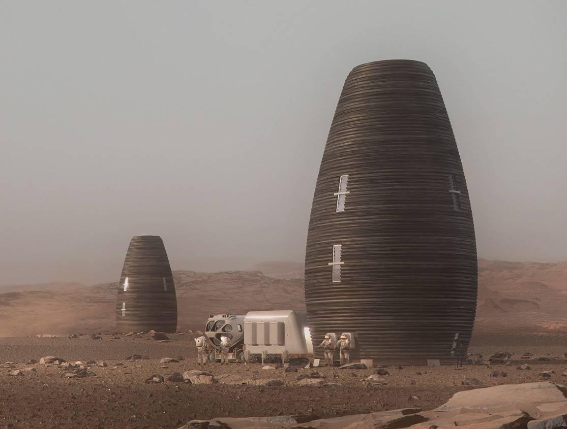 """La NASA hace público el """"mapa del hielo"""" de Marte"""