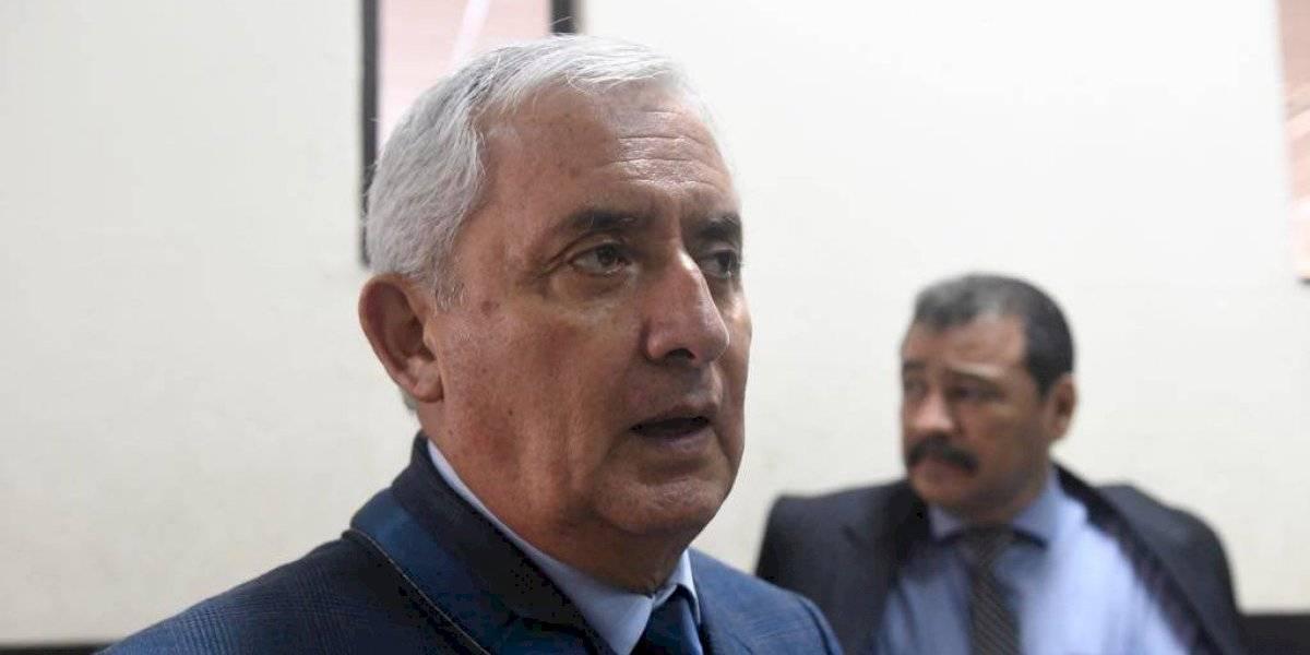 Otto Pérez niega estar implicado en nuevo caso de corrupción