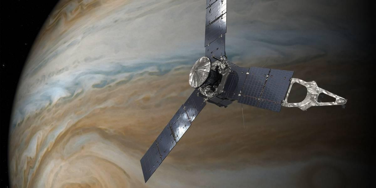 NASA: Juno reveló inesperadas descargas eléctricas sobre el cielo de Júpiter