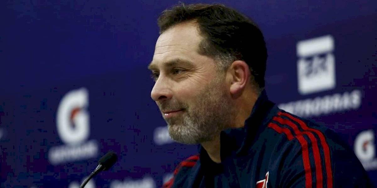 """Hernán Caputto gana confianza: """"Cada día que pasa me siento más el entrenador de Universidad de Chile"""""""