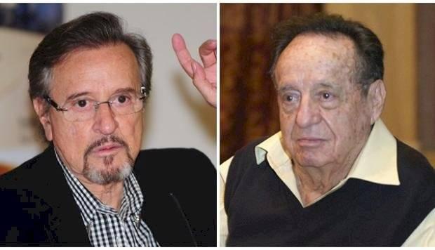 Carlos Villagran y Roberto Gómez bolaños