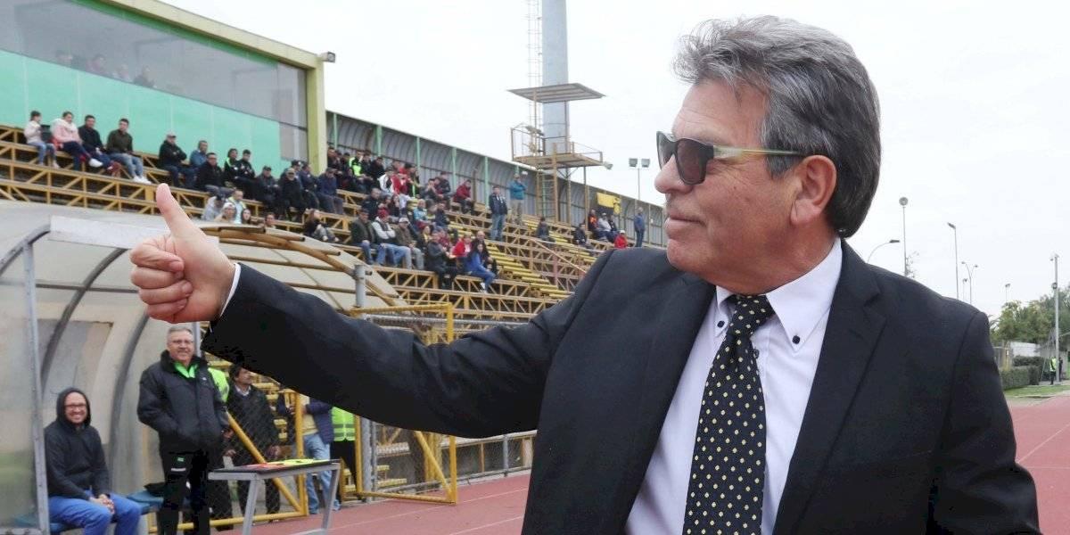 ¡Volvió el glamour! Jorge Garcés debutó con una goleada en Fernández Vial