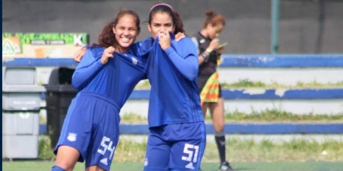 ¡Tremenda goleada! Emelec hunde 21-0 a Fuerza Amarilla en la Superliga Femenina
