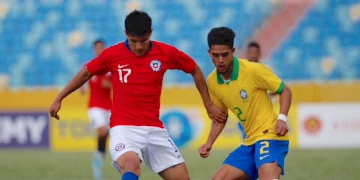 La Roja Sub 17 nuevamente sucumbió ante Brasil