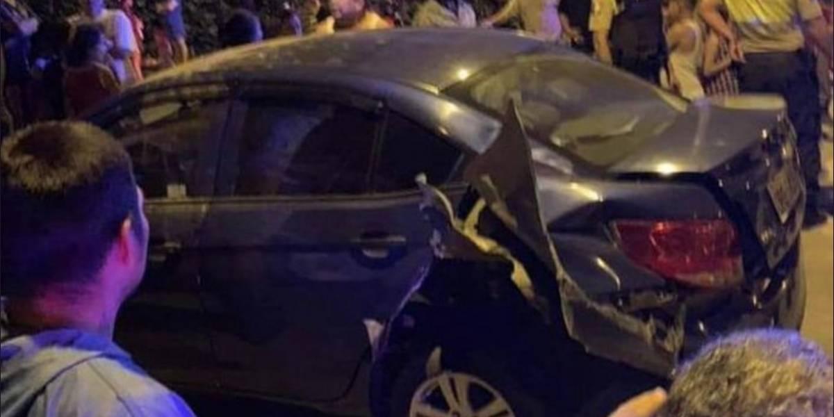 El Oro: Lanzaron artefacto explosivo a abogado que iba en su auto