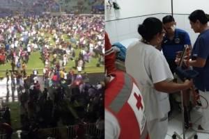 VIDEO: Mueren aficionados en el Clásico de Honduras, tras batalla entre barras