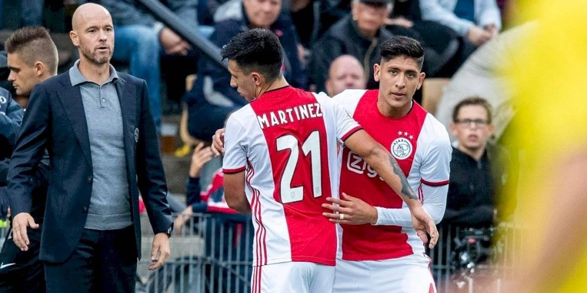 Edson Álvarez, contento con su debut: