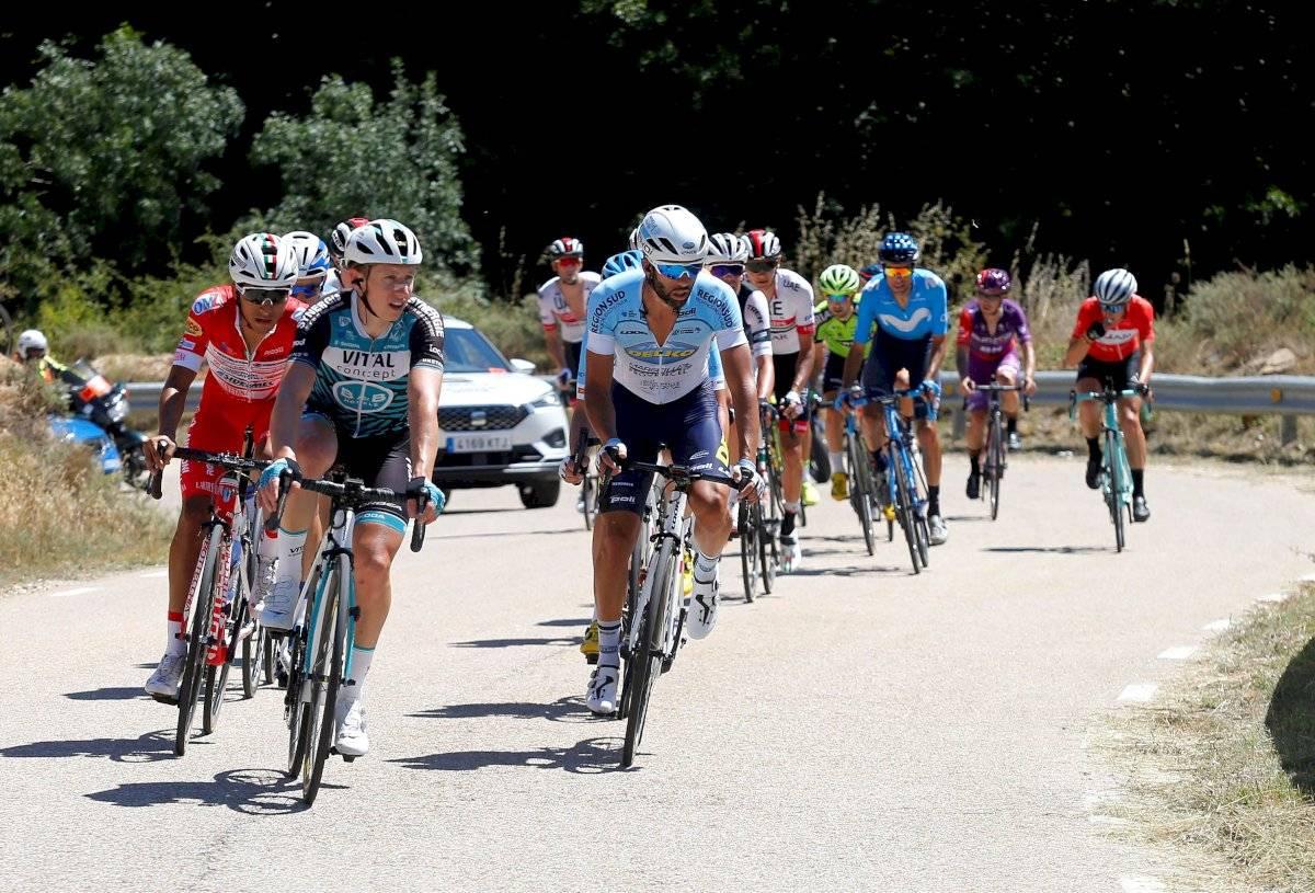 """Richard Carapaz en la Vuelta a Burgos: """"El resultado es positivo y alentador"""" EFE"""