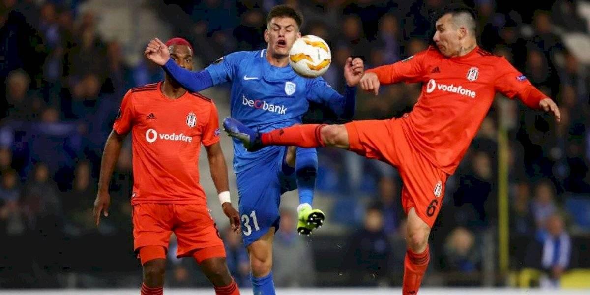 Gary Medel y Besiktas sufren dura goleada en el inicio de la Superliga de Turquía