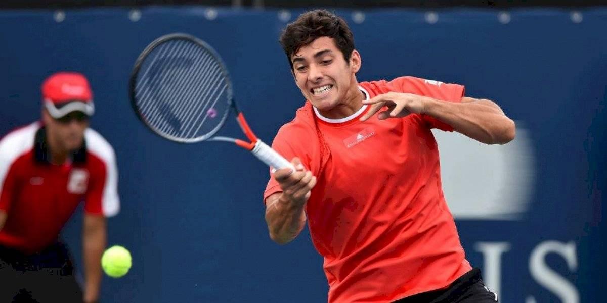 Cristian Garin será cabeza de serie en su debut en el US Open