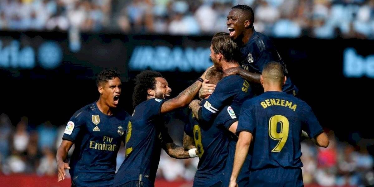 Real Madrid debuta en la Liga con sólido triunfo sobre el Celta de Vigo