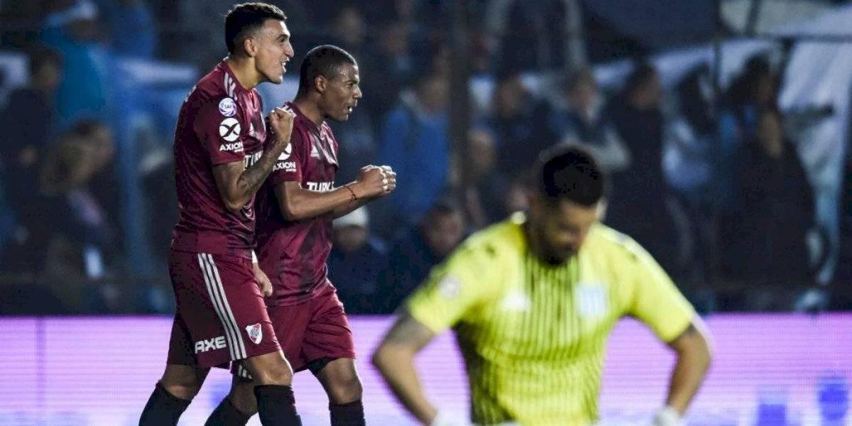 River Plate no tuvo piedad y humilló al Racing de Díaz y Arias