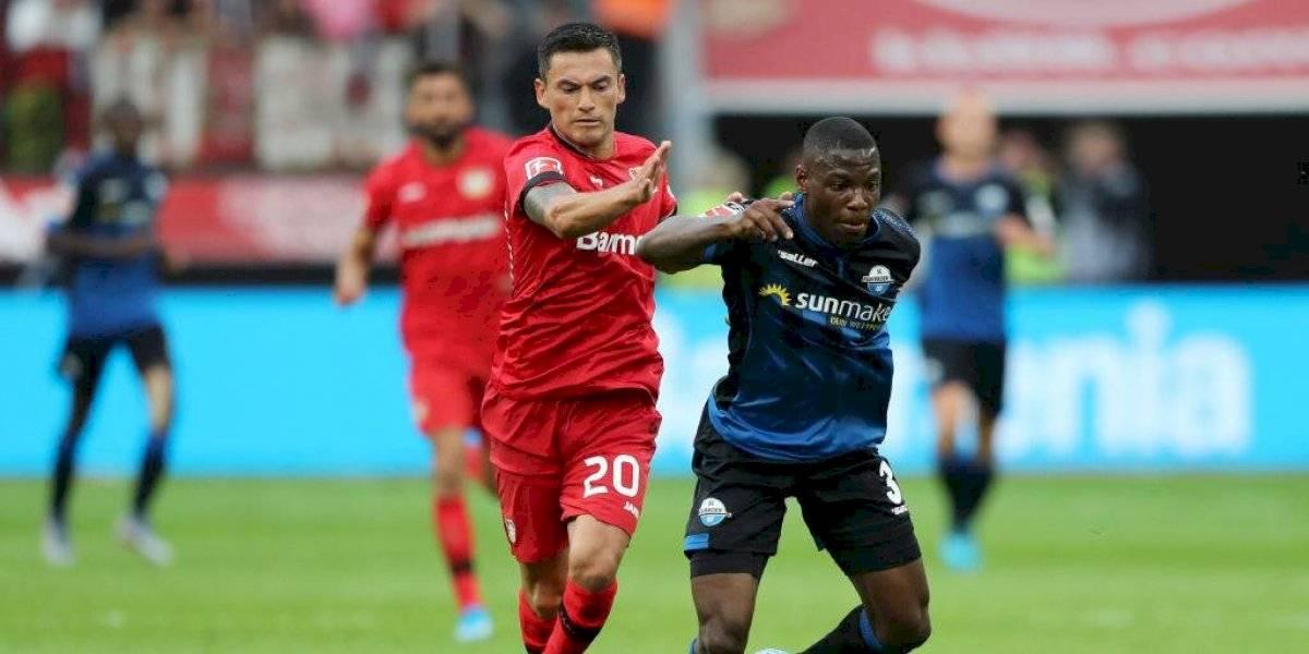 Bayer Leverkusen de Charles Aránguiz debuta con victoria en la Bundesliga