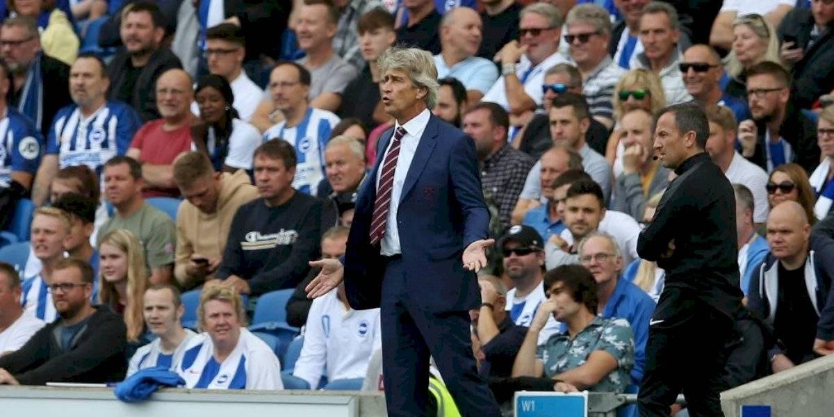 West Ham de Pellegrini empató con Brighton y sigue sin poder ganar en la Premier League