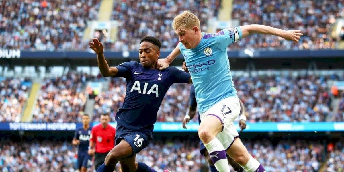 Claudio Bravo fue a la banca: Manchester City empató con Tottenham y cedió la punta de la Premier League