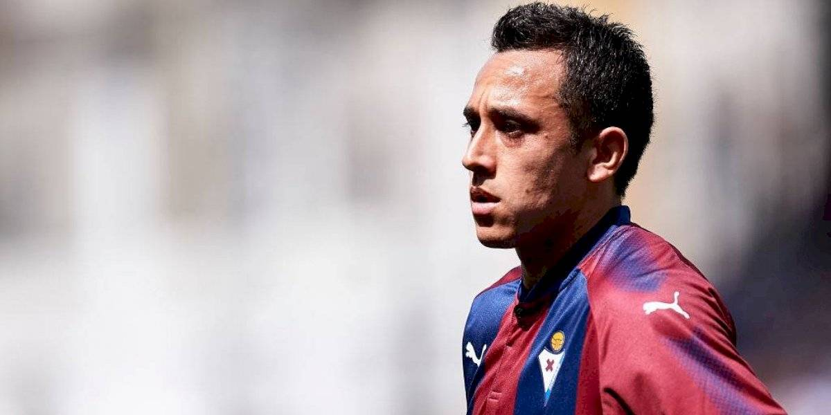 Fabián Orellana y Eibar debutan en La Liga con ajustada derrota ante el Mallorca