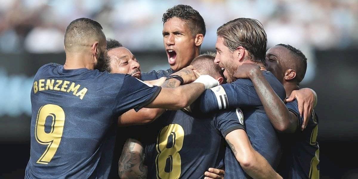 Prometedor arranque para el Madrid tras derrotar al Celta de Vigo